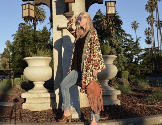 Groovy Kimono, Wearing Boho Over 40