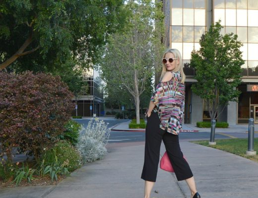 Lynn Ritchie: Crossed Paths Blouse & Wide-Leg Crepe Pants!