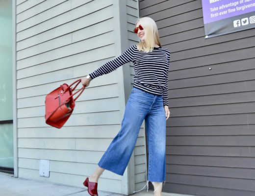 Madewell High-Waisted Wide-Leg Jeans! (& Link Up!)