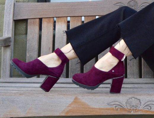 Jambu Canary in Plum Suede – My New FAV Shoes!
