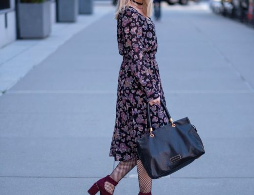 NYFW – Fall Florals & Fishnets – WIW Day 2